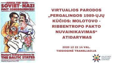 VIRTUALIOS PARODOS ATIDARYMAS 2020 12 22