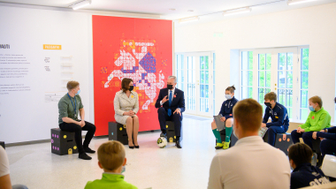 Tarptautinė vaikų gynimo diena Valstybės pažinimo centre