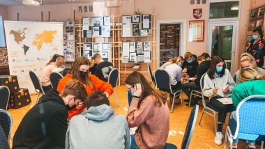 Valstybės pažinimo centro komanda – Utenoje ir Zarasuose!