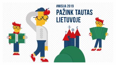 Prasideda žaidimas Misija 2019: pažink tautas Lietuvoje!