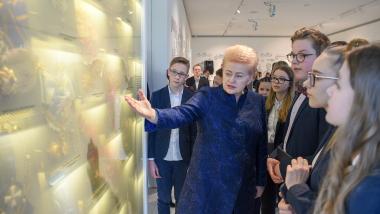 Dalia Grybauskaitė Valstybės pažinimo centre