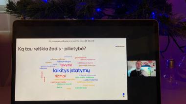Valstybės pažinimo centro nuotolinė diena Vilniaus regione