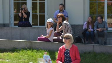 Šeimos sekmadienis II Poezijos pavasaris visai šeimai