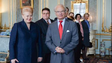 Prezidentės kvietimu į Lietuvą atvyksta Švedijos karališkoji pora