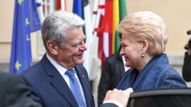 Prezidentė sveikina Vokietiją su  25-siomis šalies suvienijimo metinėmis