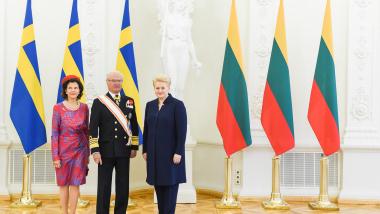 Švedijos karališkasis vizitas – šalių bendrystės įtvirtinimas