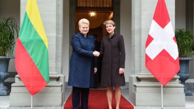 Ryšiai su Šveicarija stiprina Lietuvos konkurencingumą