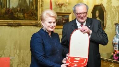 Prezidentė su oficialiu vizitu lankosi Maltos ordine (Vatikanas)