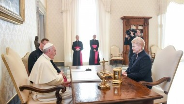 Popiežiaus padrąsinimas svarbus Lietuvos žmonėms