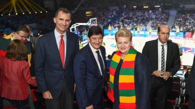 Prezidentė Lilyje susitiko su Ispanijos karaliumi