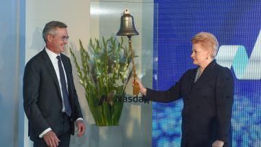 """""""Nasdaq"""" investicija – pasitikėjimas Lietuva"""