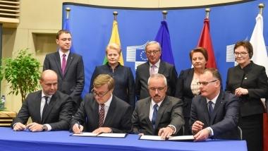 Dujotiekis su Lenkija atneš naudos visam regionui